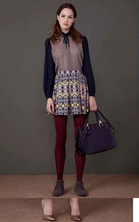 Cuanto estilo os dejo en éste outfit presentado en el catalogo otoño