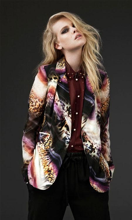 Chica con diseño Primark para otoño invierno 2013