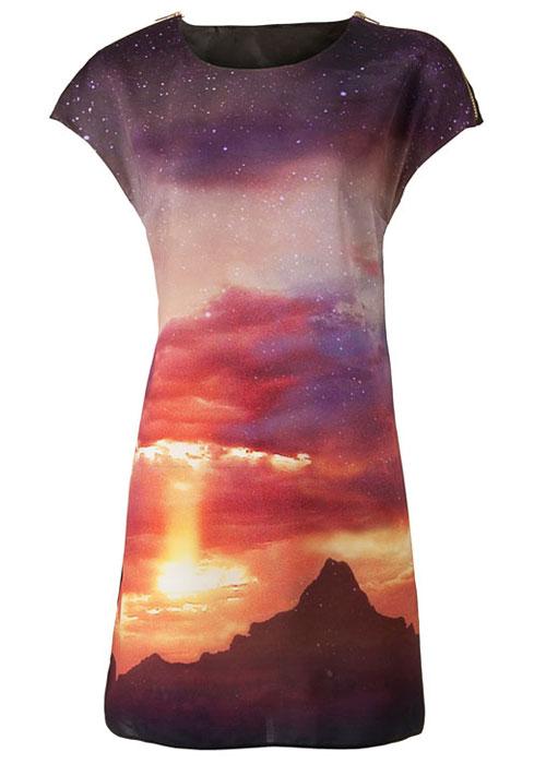 Vestido Primark Galaxy 2012