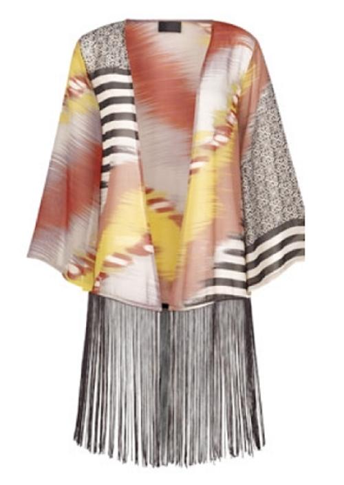 Tunica Primark mujer elegante con flecos