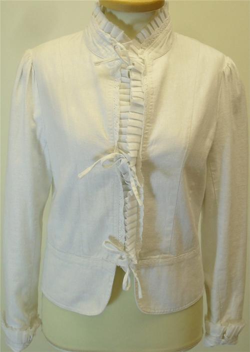 Primark compras chaqueta mujer blanco