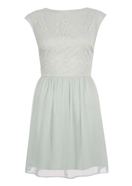 Corto vestido Primark color blanco 2013