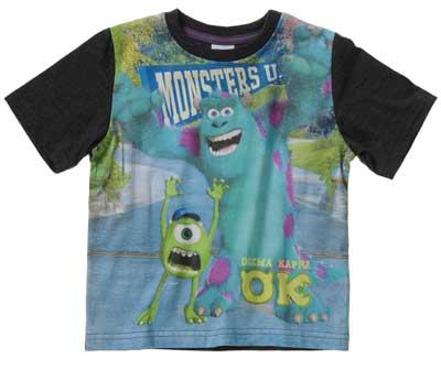 camisetas de niños monster