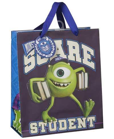 Una bolsa de regalo de niñas y niños