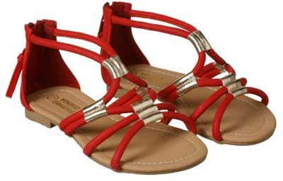 Zapatos niñas sandalias bajas