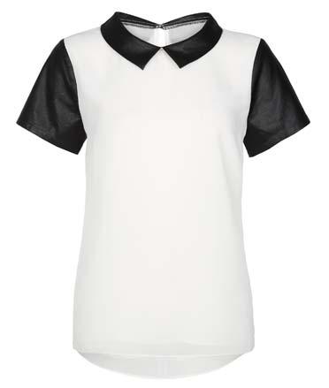 Distintiva camisa de mujer