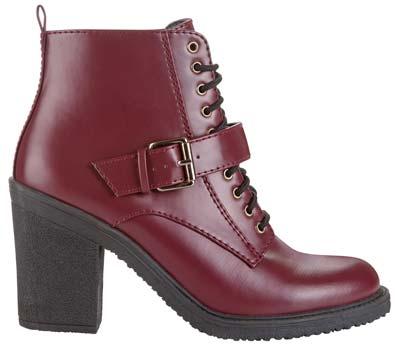 Zapatos botas de cuero