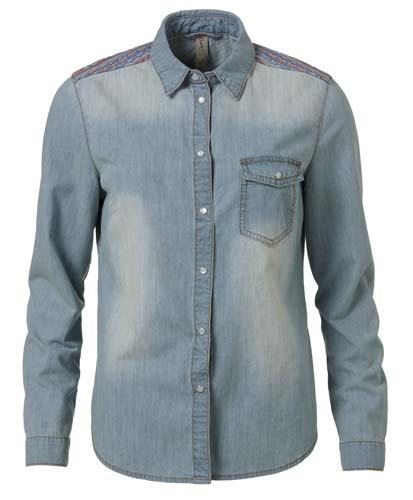 camisa de Jean otoño invierno