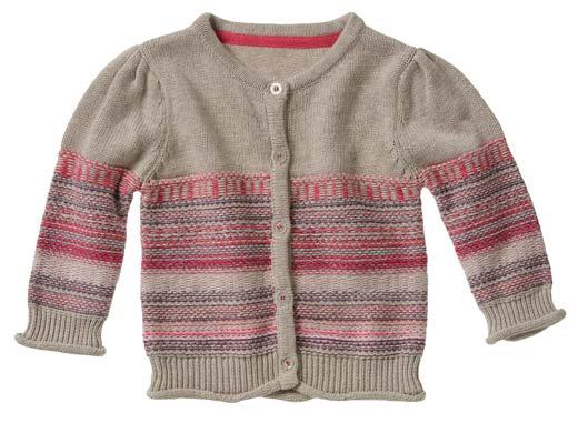 jerseys y cardigans de niñas 2013