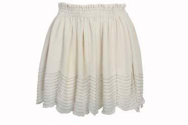 Falda corta de mujer elegante 2013