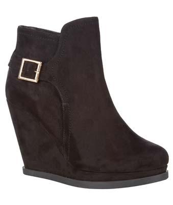 Zapato cuña de mujer otoño invierno