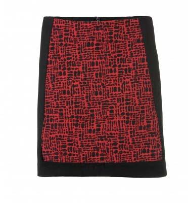 Diferente falda estampada de calidad