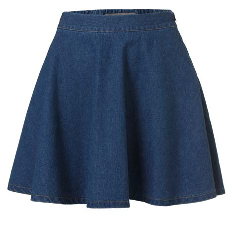 faldas y vestidos de jean