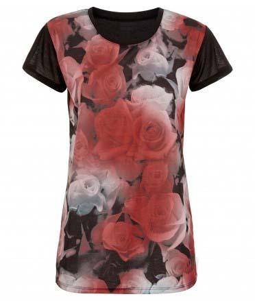 Camiseta de Primark floreada