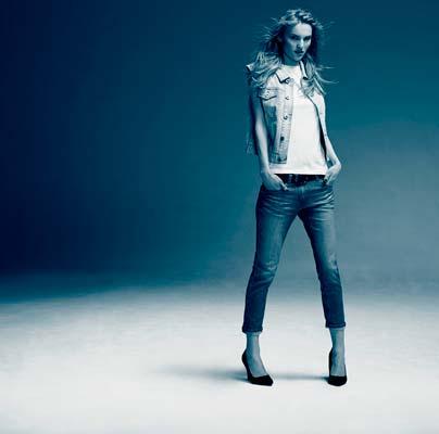 mujer jeans denim