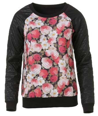 catálogo ropa de mujer floral