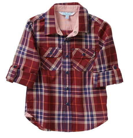 Camisa niño estampado a rayas