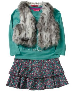 Diseño de vestido de niña con Jersey