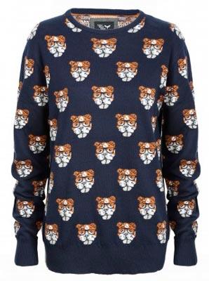 Jersey de mujer con diseño animales