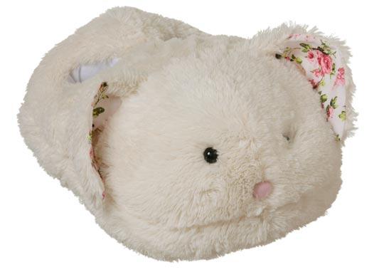Hermosas pantuflas conejo para niñas y niños