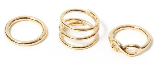 Sortijas y anillos en oferta