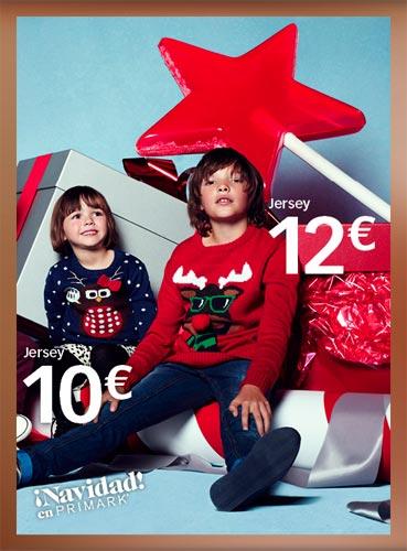 Oferta de ropa navideña para niño