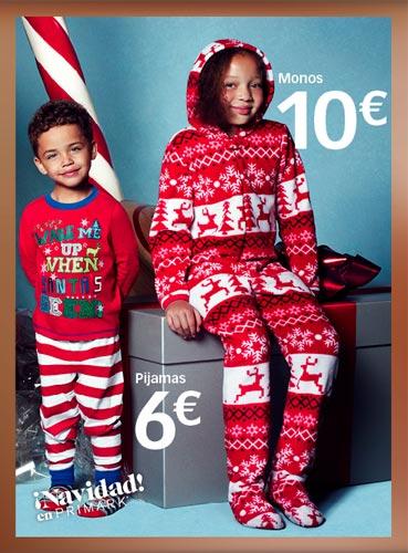 Pijamas de niño y monos para navidad