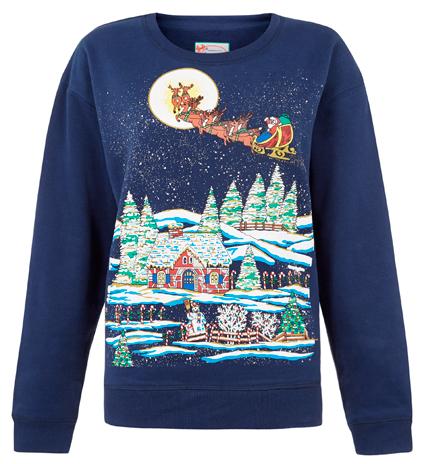 Navidad Primark con jerseis decorados
