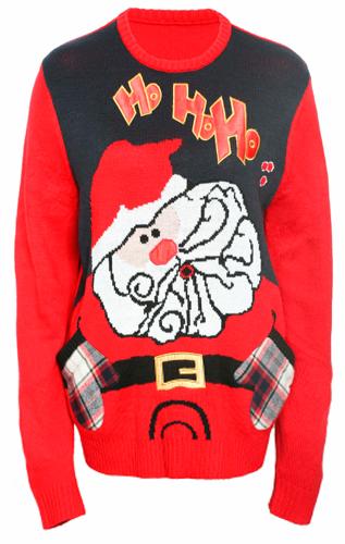 Navidad y ropa de jersey