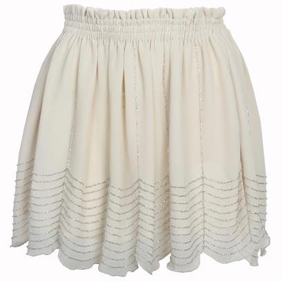 Hermosa falda de mujer
