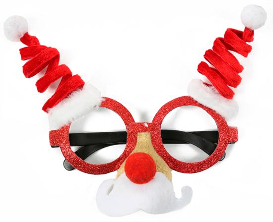 Navidad gafas divertidas
