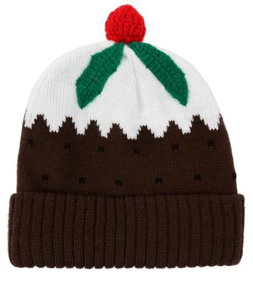 Gorro de lana de Navidad