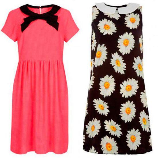Vestidos variados en una marca de tendencia