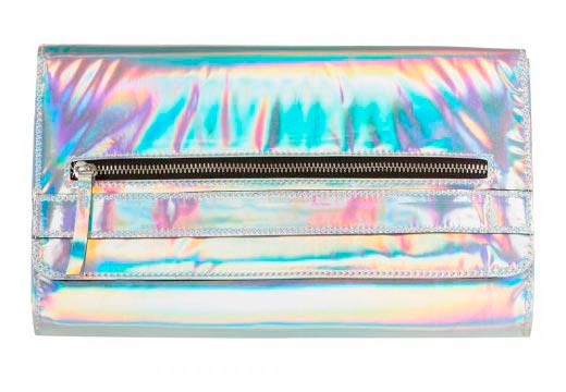 Bolso de mujer metalizado