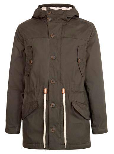 Sencilla chaqueta para hombre