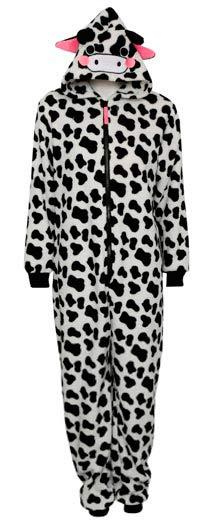 Pijama de vaca diseño de mujer