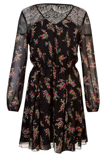 Vestido floreado de mujer