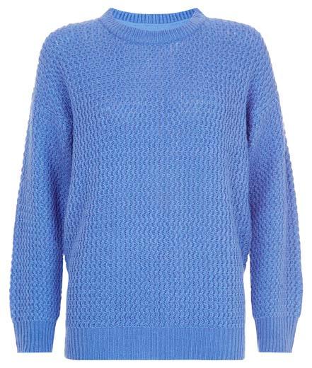 Jersey azul de calidad