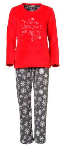 Pijama de mujer rojo