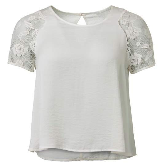 Blusa de mujer en blanco