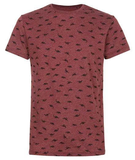 Camiseta de hombre dinosaurios