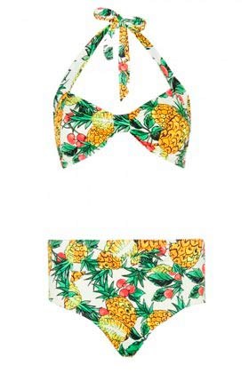 Retro Primark bikini frutal