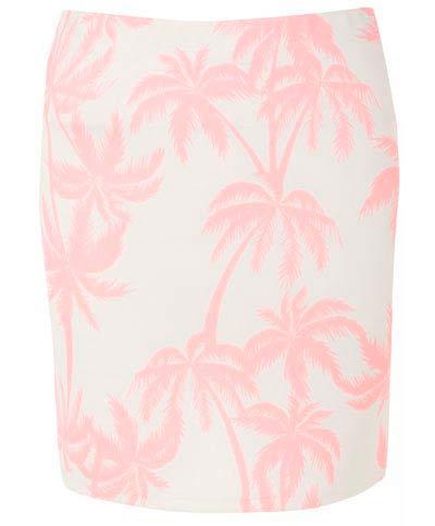 Hermosa falda rosa