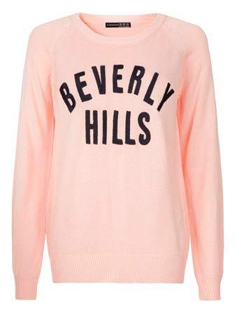 Disfrutar un jersey rosa