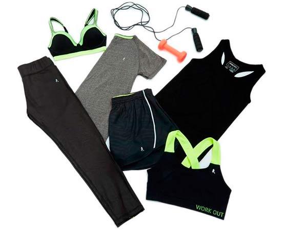 Elige ropa deportiva precio