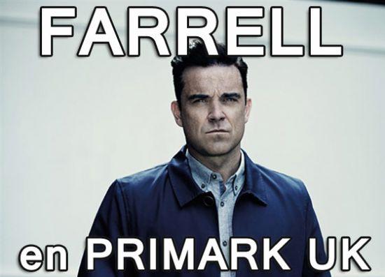 Ropa de hombre de Robbie Williams