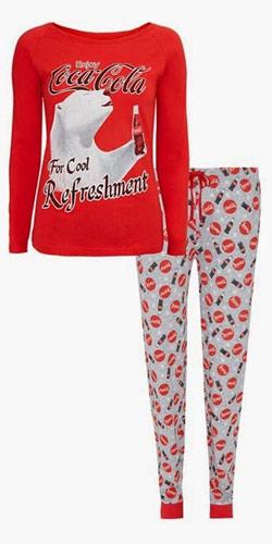 Pijamas Primark de Coca Cola