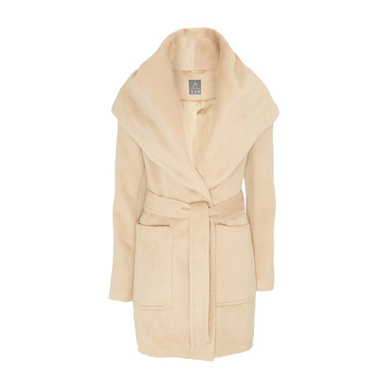 Elegante abrigo tipo gabardina de mujer