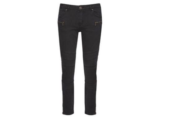 Jeans de mujer con cremalleras