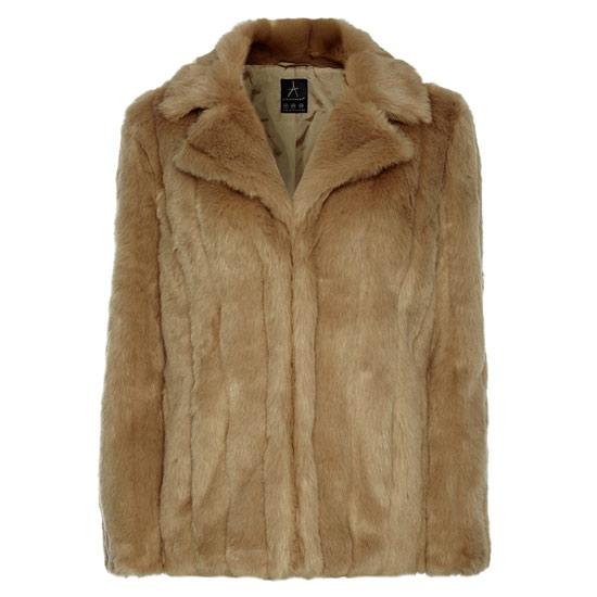 5e27e859e Abrigo de piel sintética en Primark